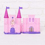 Замок для кукол «Кукольный замок» с аксессуарами, световые и звуковые эффекты, фото 5