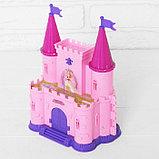 Замок для кукол «Кукольный замок» с аксессуарами, световые и звуковые эффекты, фото 7