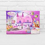 Замок для кукол «Кукольный замок» с аксессуарами, световые и звуковые эффекты, фото 9
