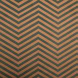 """Бумага упаковочная, """"Зиг-Заг"""", крафт, зеленая, 50 х 70 см, фото 2"""