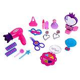 Набор парикмахера в чемодане, 15 предметов, МИКС, фото 4