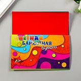 "Цветная бумага бархатная ""Волны"" набор 5шт, А5, 140 гр/м2, фото 5"