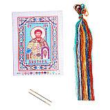 """Набор для вышивания крестиком """"Святой Мученик Виктор"""" размер основы 21,5*29 см, фото 2"""