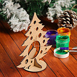 Сувенир «Елочка со снежинкой» на подставке, фото 3