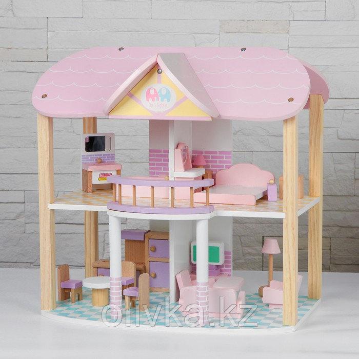 "Кукольный домик ""Счастье"" 29х48х46 см"