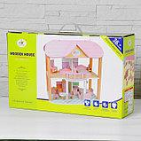 "Кукольный домик ""Счастье"" 29х48х46 см, фото 3"