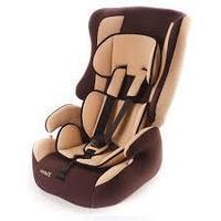"""Детское автомобильное кресло ZLATEK """"Atlantic LUX"""" коричневый"""