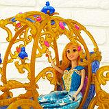 Карета для кукол с куклой, лошадка ходит, фото 8