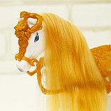 Карета для кукол с куклой, лошадка ходит, фото 9