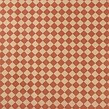 """Бумага упаковочная крафт """"Ромбы"""", коричневый на коричневом, 0,7 х 8,5 м, 70 г/м2, фото 2"""