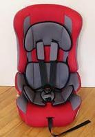 """Детское автомобильное кресло ZLATEK """"Atlantic LUX"""" красный, 1-12 лет, 9-36 кг, группа 1/2/3"""