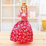 """Кукла модель """"Анита"""" в бальном платье, МИКС, фото 5"""