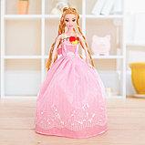 """Кукла модель """"Анита"""" в бальном платье, МИКС, фото 10"""
