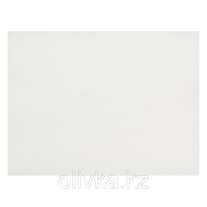 Картон переплётный 1.5 мм, 30х40 см, 950 г/м², белый