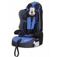 Удерживающее устройство для детей «Siger» серия Disney, Драйв, гр. I/II/III, Микки Маус контур синий