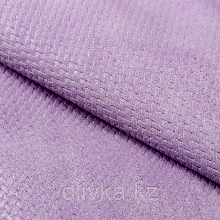 Пэчворк декоративная кожа «Лиловый расвет», 50 х 50 см.