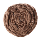 Гребенная лента 100% полутонкая шерсть 100гр (0860 древесный), фото 2
