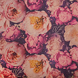 "Бумага упаковочная крафтовая ""Букет цветов"" 50х70 см, фото 2"
