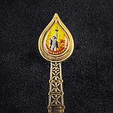 Ложка в форме капли нефти «Нижневартовск. Алёша», фото 3