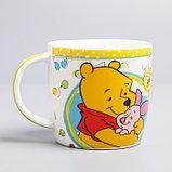 """Посуда детская """"Любимый малыш""""Медвежонок Винни и его друзья,3 пред.тарел.салат. круж., фото 4"""