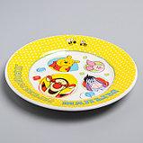 """Посуда детская """"Любимый малыш""""Медвежонок Винни и его друзья,3 пред.тарел.салат. круж., фото 7"""