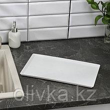 Поддон пластиковый для тарелосушки, 23×37 см
