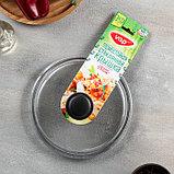Сковорода 22 см, h=6 см, бакелитовая ручка, стеклянная крышка, фото 6
