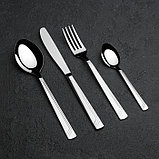 Набор столовых приборов «Аппетит», 24 предмета, толщина 2 мм, декоративная коробка, фото 2
