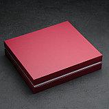 Набор столовых приборов «Аппетит», 24 предмета, толщина 2 мм, декоративная коробка, фото 6
