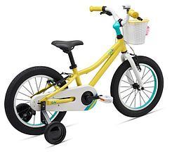Детский велосипед Giant Liv Adore 16, 2020 - yellow