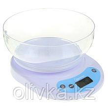 Весы кухонные HOMESTAR HS-3001, электронные, до 5 кг, белые