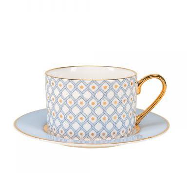 Подарочный набор. Чайная пара Азур. Императорский фарфоровый завод