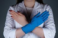 Материалы и размеры медицинских одноразовых перчаток