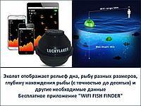 Беспроводной WI-FI эхолот, LuckyLaker FF916