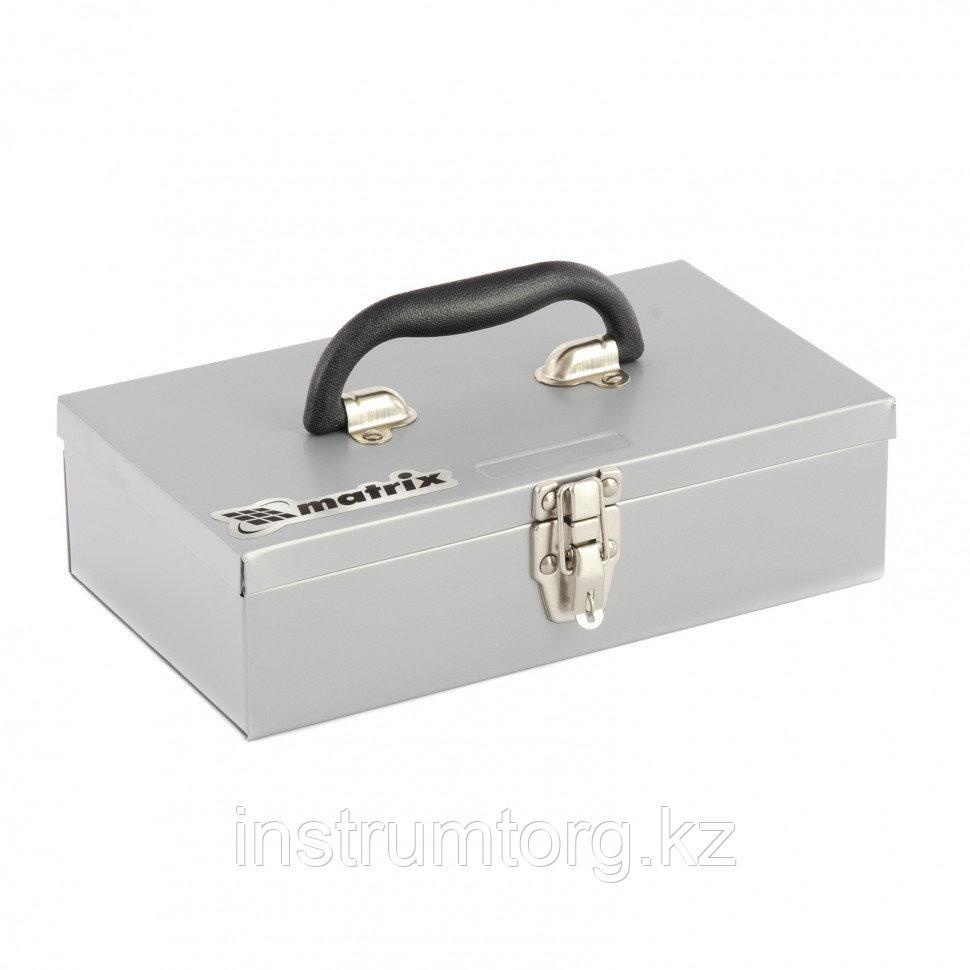 Ящик для инструмента, 284х160х78 мм, металлический// Matrix