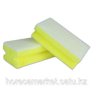 Губка для клининга Фреза 130x70x44 (8шт) желтая