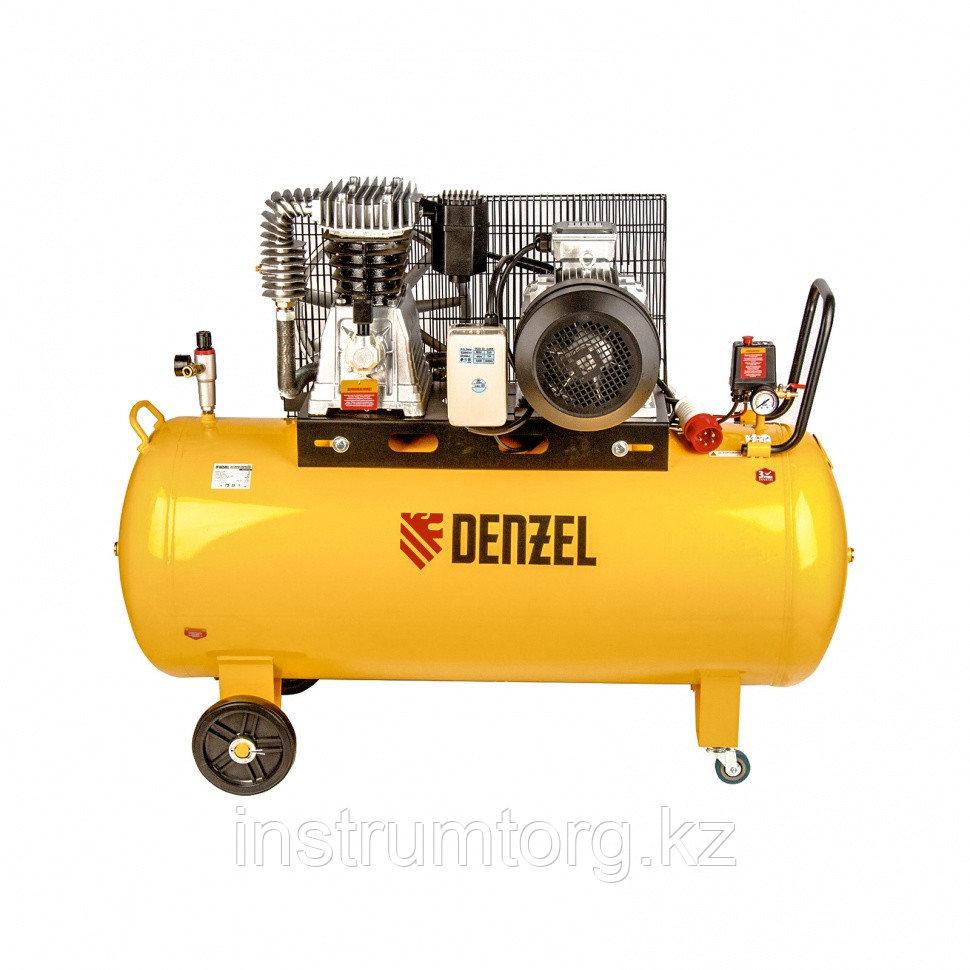 Компрессор DR5500/300 масляный ременный 10 бар произв. 850 л/м мощность 5,5 кВт// Denzel