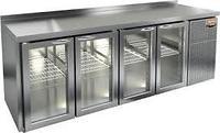 Стол c охлаждающим шкафом со стеклянной дверью Hicold SNGS 1111 HT