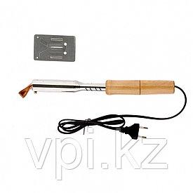 Паяльник электрический  с деревянной ручкой, 100Вт.  SPARTA