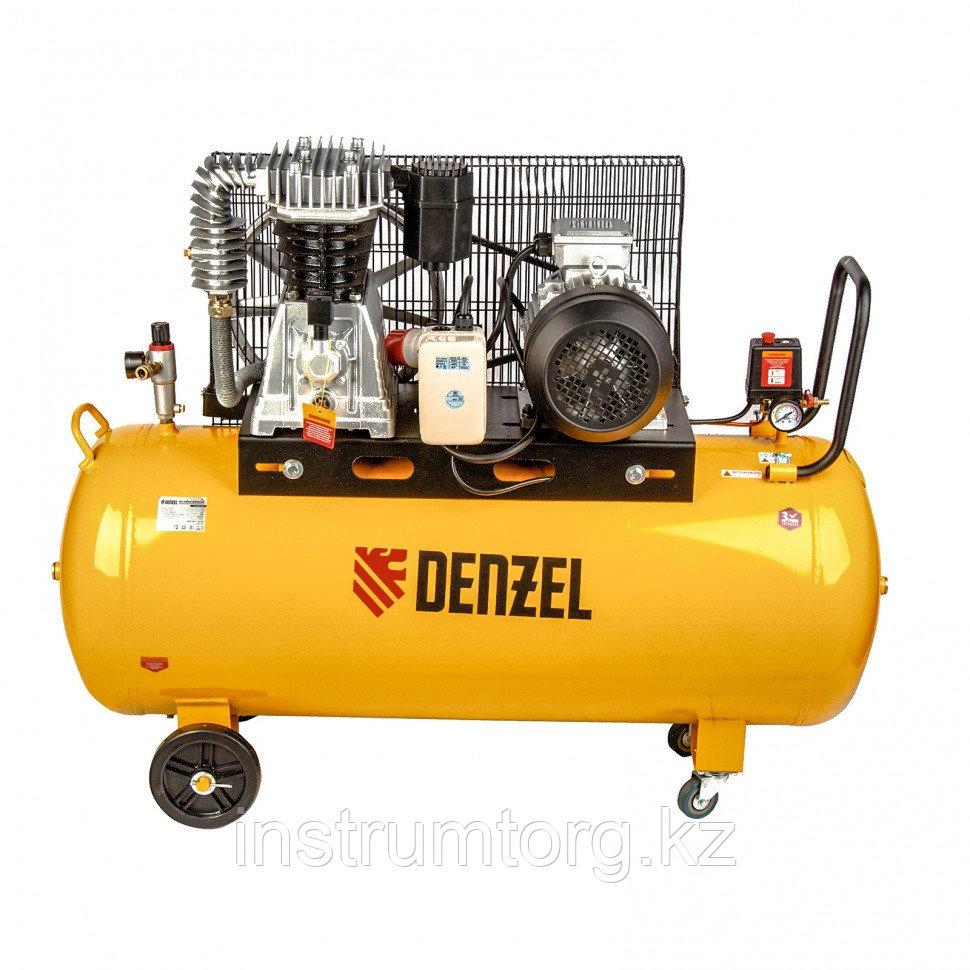 Компрессор DR4000/200 масляный ременный 10 бар, произв. 690 л/мин., мощность 4 кВт// Denzel