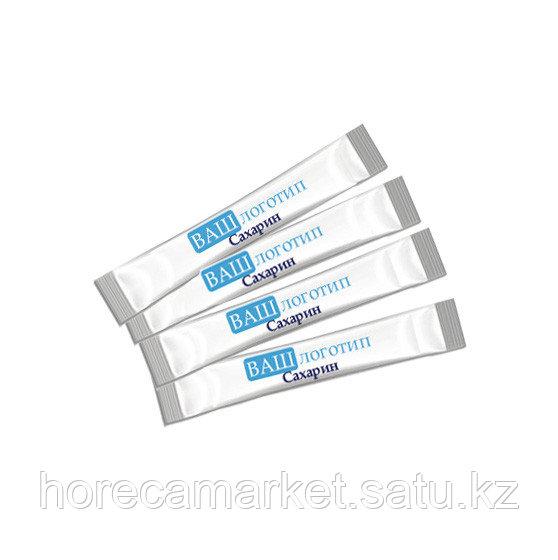 Сахарин таблетированный 2 шт в пакетике с логотипом.