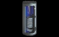 Вертикальный бойлер косвенного нагрева в комплектое с ТЭНом 3,5 кВт SW-300