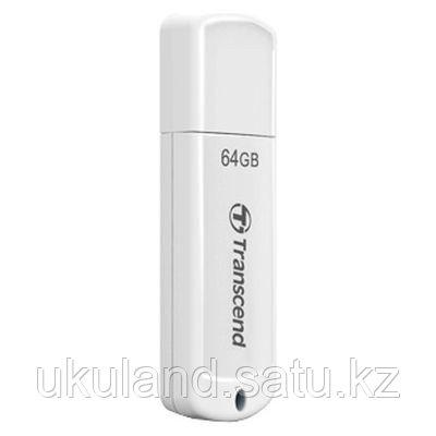 USB Флеш 64GB 2.0 Transcend TS64GJF370 белый