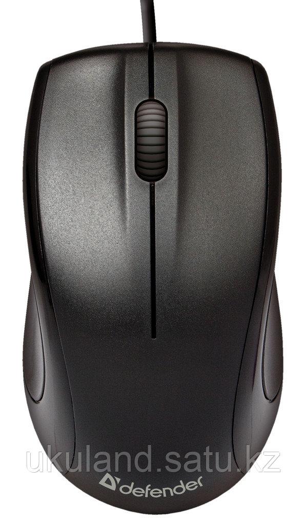 Мышь проводная Defender Optimum MB-150 PS/2 черный