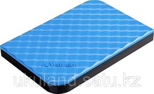 Внешний жесткий диск 2,5 1TB Verbatim 053200 голубой