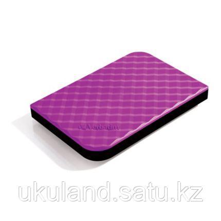 Внешний жесткий диск 2,5 1TB Verbatim 053212 пурпурный
