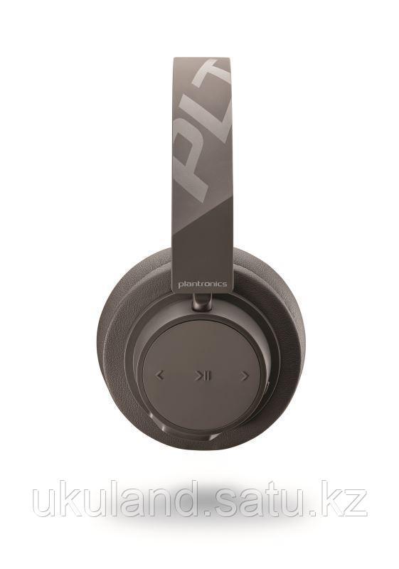 Наушники-гарнитура беспроводные Plantronics BACKBEAT GO 600 серый
