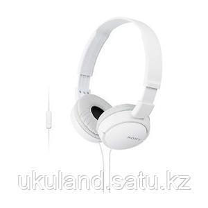 Наушники-гарнитура проводные Sony MDRZX110APW.CE7 белый