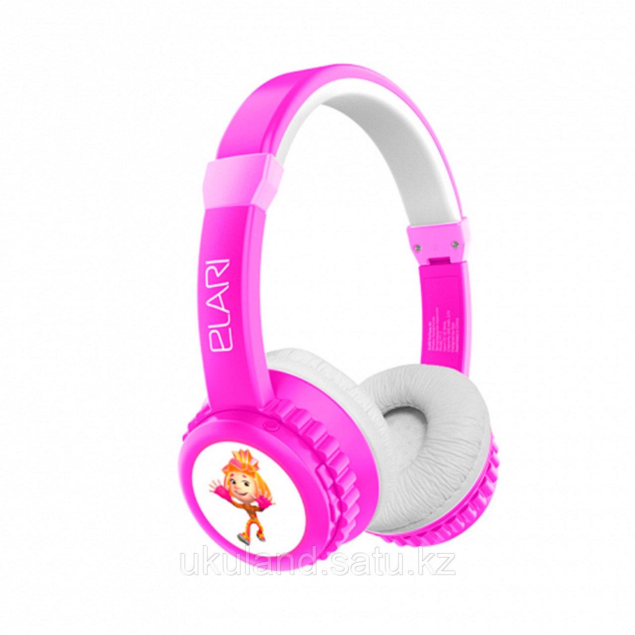 Наушники-накладные беспроводные ELARI FixiTone Air розовый