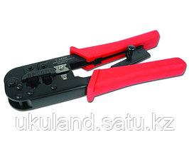 Инструмент Cablexpert T-568, обжимной универсальный (8p8c,6p6c,6p4c,6p2c), для витой пары и тел.лини